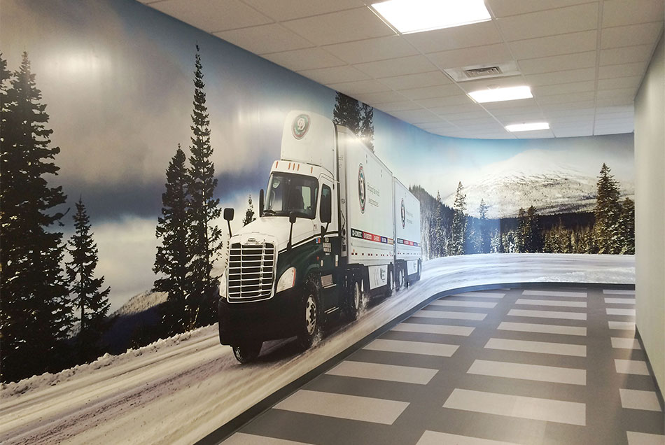 Old Dominion Freight Line Corporate Office Wall Graphics
